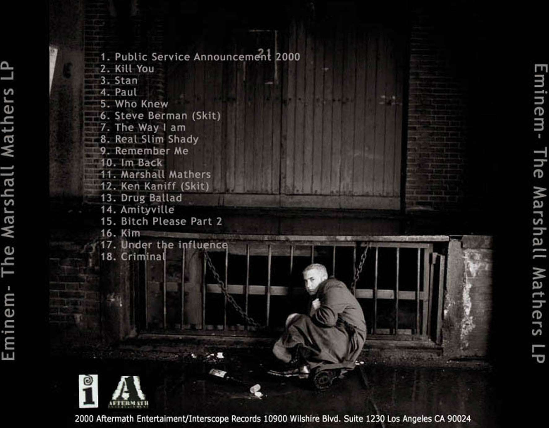 eminem marshall mathers lp mp3 download